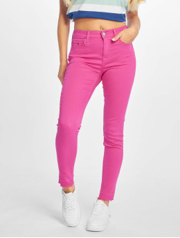 Tommy Jeans | Nora 7/8 Mid Rise magenta Femme Jean skinny