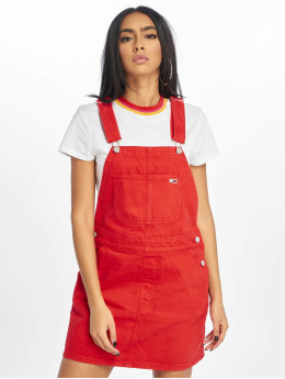 Tommy Jeans jurk Classic  rood