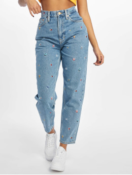 Tommy Jeans Mom Jeans High Rise Tapered TJ 2004 blå