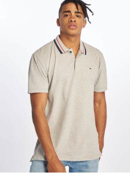 Tommy Jeans Poloshirt Classics Stretch grau