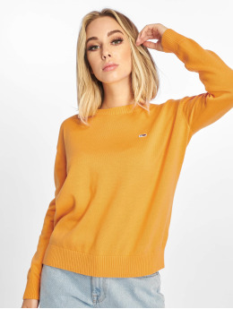 Tommy Jeans Pullover Classics orange