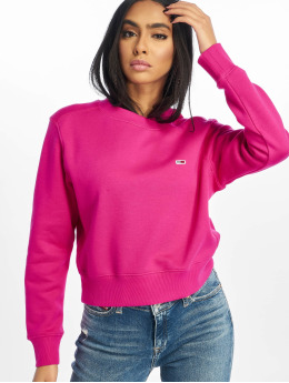 Tommy Jeans Pullover Side Seam Detail pink
