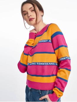 Tommy Jeans Puserot Tape Stripe keltainen