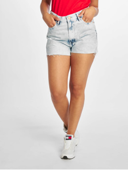 Tommy Jeans Shorts Hotpant Denim blå