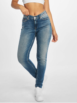 Tommy Jeans Skinny Jeans Nora Mid Rise blau