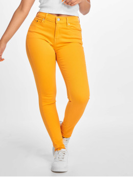 Tommy Jeans Skinny jeans Nora   geel