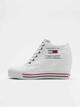 Tommy Jeans Sneaker Wedge Casual weiß