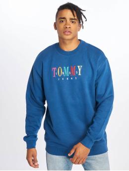 Tommy Jeans Swetry Graphic niebieski