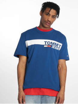 Tommy Jeans t-shirt Essential Box blauw