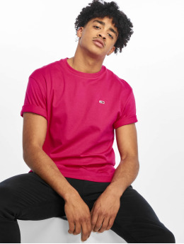 Tommy Jeans T-Shirt Classics magenta