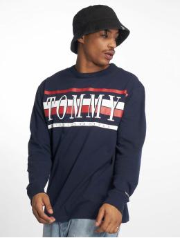 Tommy Jeans T-Shirt manches longues Retro bleu