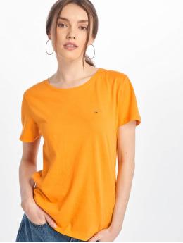 Tommy Jeans T-shirts Jersey gul
