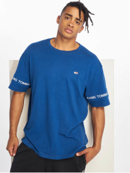 Tommy Jeans T-Shirty Arm Band niebieski