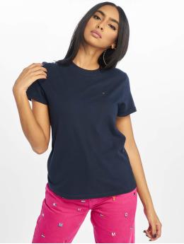 Tommy Jeans T-skjorter Relaxed Roll Up blå