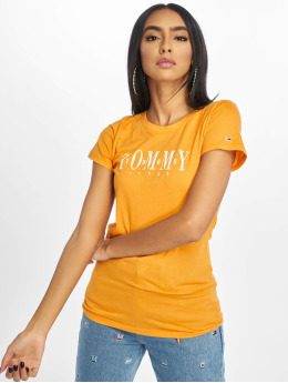 Tommy Jeans T-skjorter Casual gul