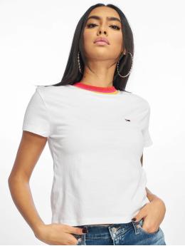 Tommy Jeans T-skjorter Solid Baby  hvit