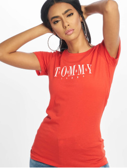 Tommy Jeans T-skjorter Casual red