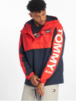 Tommy Jeans Transitional Jackets Graphic Popover red