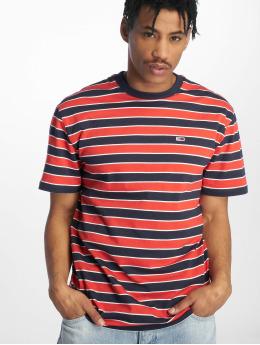 Tommy Jeans Trika Bold Stripe červený