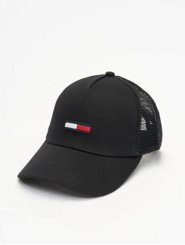Tommy Jeans Trucker Cap Flag  schwarz