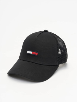 Tommy Jeans Trucker Caps Flag  czarny