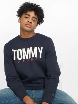 Tommy Jeans trui Essential Logo blauw