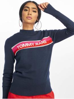 Tommy Jeans trui Graphic Stripe blauw