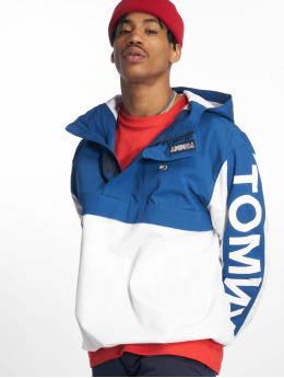 Tommy Jeans Zomerjas Graphic Popover blauw