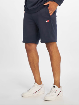 Tommy Sport Shorts Logo Knit  blau
