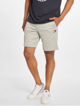 Tommy Sport Shorts Logo Knit grau