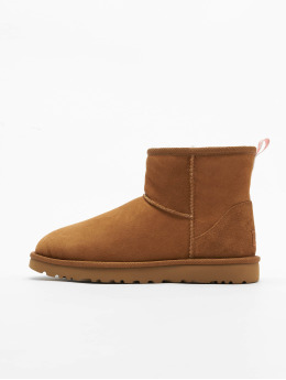 UGG Chaussures montantes Classic Mini II Graphic Logo brun