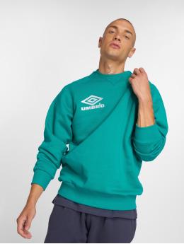 Umbro Пуловер Classico Crew зеленый