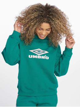 Umbro Пуловер Logo зеленый