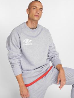Umbro Пуловер Classico Crew  серый
