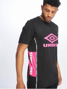 Umbro Camiseta Horizon Crew negro