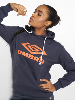 Umbro Frauen Hoody Logo in blau