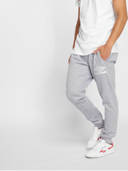 Umbro Classico Tapered Fit Sweatpants Grey Marl