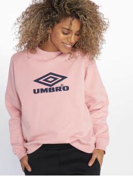 Umbro Jumper Logo  rose
