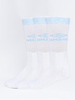 Umbro Ponožky 3-Pack Projects Sport bílý