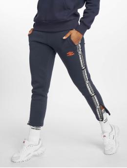 Umbro Spodnie do joggingu Tape Side Crop niebieski
