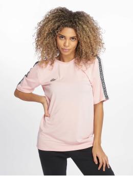 Umbro T-shirt Scoop Back  rosa chiaro