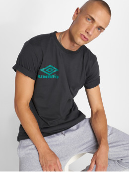 Umbro t-shirt Classico Crew Logo zwart