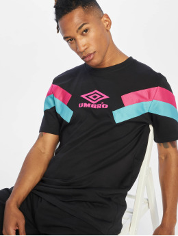 Umbro t-shirt Chevron  zwart