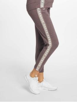 Under Armour Спортивные брюки Featherweight Fleece серый