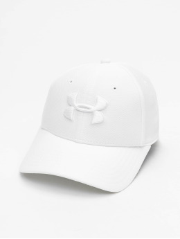 Under Armour Casquette Flex Fitted UA Blitzing 3.0 blanc