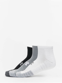 Under Armour Chaussettes Heatgear Locut gris