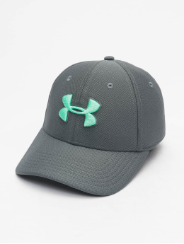 Under Armour Flexfitted Cap UA Blitzing 3.0 šedá