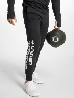 Under Armour Joggingbyxor Sportstyle Cotton Graphic svart
