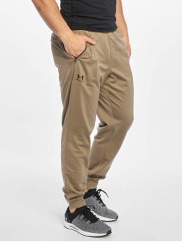 Under Armour Pantalons de jogging Sportstyle Tricot brun