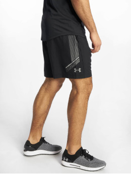Under Armour shorts Woven Graphic zwart